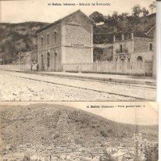 Postales: LOTE 3 POSTALES ANTIGUAS DE BUÑOLA, BALEARES. Lote 27359637