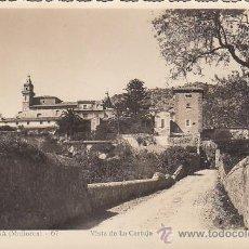 Postales: VALLDEMOSA MALLORCA (BALEARES): VISTA DE LA CARTUJA EN TARJETA POSTAL NUM. 67 FOT. GUILERA, SIN USAR. Lote 27432541
