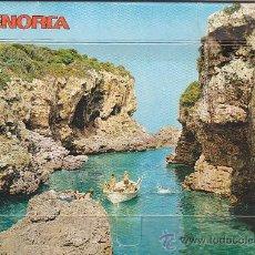 Postales: BONITA Y RARA POSTAL MENORCA (BALEARES) CONTENIENDO EN SU INTERIOR ACORDEON 13 POSTALES DIFERENTES.. Lote 27577311