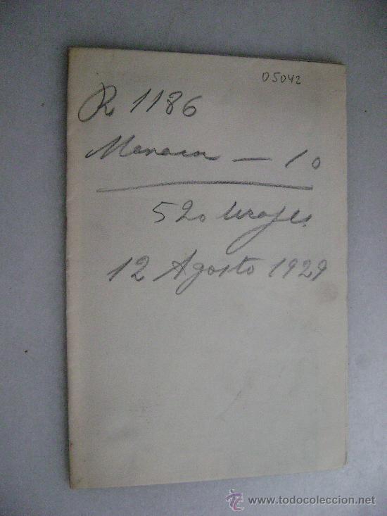 Postales: 10 POSTALES DE MANACOR.MALLORCA.ORDEN DE TRABAJO.THOMAS.05042A - Foto 2 - 27826871