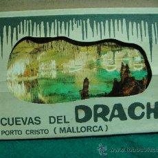 Postales: CUEVAS DEL DRACH (PORTO CRISTO) MALLORCA 10 POSTALES EN LIBRITO ACORDEON. Lote 28187844