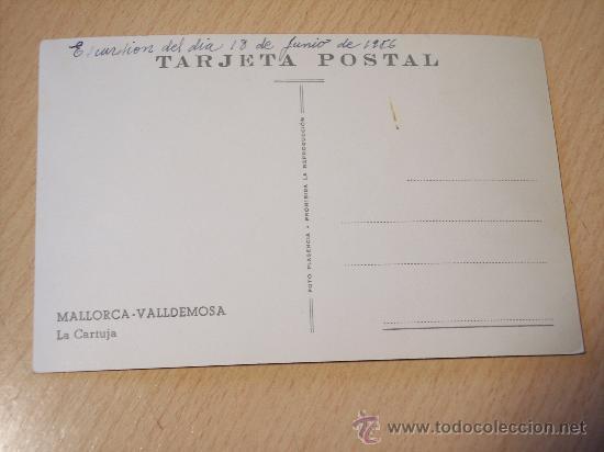 Postales: MALLORCA - VALLDEMOSA (LA CARTUJA) SIN CIRCULAR - Foto 2 - 28527558