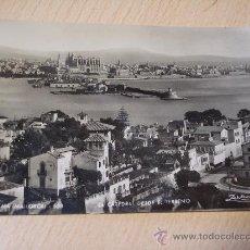 Postales: PALMA DE MALLORCA (LA CATEDRAL DESDE EL TERRENO) ZERKOWITZ. Lote 28527550