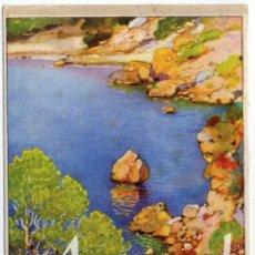 Postales: PRECIOSA Y RARA POSTAL - MALLORCA - ERWIN HUBERT - PHOMAS, S.A.- PUBLICIDAD DE CEREGUMIL. Lote 28498329
