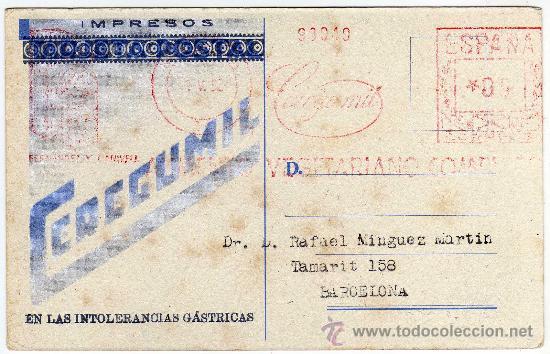 Postales: PRECIOSA Y RARA POSTAL - MALLORCA - ERWIN HUBERT - PHOMAS, S.A.- PUBLICIDAD DE CEREGUMIL - Foto 2 - 28498329