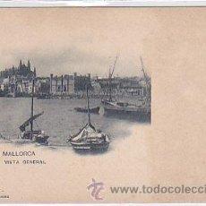 Postales: POSTAL MALLORCA VISTA GENERAL DE PALMA . Lote 28580009
