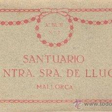 Postales: MALLORCA - NTRA.SRA. LUCH-BLOCK INCOMPLETO 22 POST.-FALTAN 2 POST.- VER FOTOS ADICIONALES -(B-96). Lote 29137354