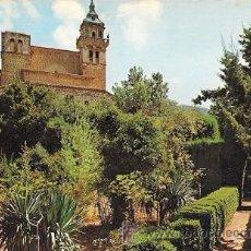 Postales: VALLDEMOSA (MALLORCA) - JARDINES DE LA CARTUJA. Lote 29493574