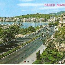 Postales: POSTAL PALMA DE MALLORCA, PASEO MARITIMO, ESCRITA SIN SELLO . Lote 29589611