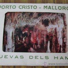 Postales: ACORDEON CON SOBRE DE 10 POSTALES .. CUEVAS DELS HAMAS - PORTO CRISTO - MALLORCA. Lote 29702378