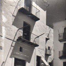 Postales: IBIZA, RINCÓN DE LA PLAZA DE VILA. Lote 29821775