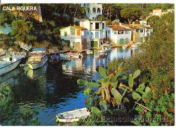 7-ESP1084. POSTAL MALLORCA. SANTANYI. CALA FIGUERA (Postales - España - Baleares Moderna (desde 1.940))