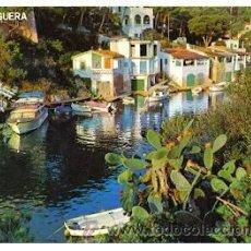 Postales: 7-ESP1084. POSTAL MALLORCA. SANTANYI. CALA FIGUERA. Lote 29824098