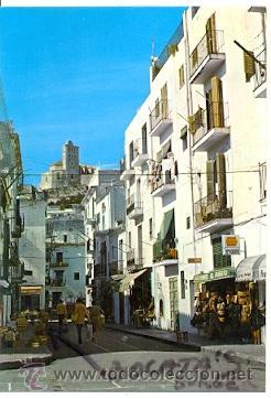 7-ESP1102. POSTAL IBIZA. CALLE TÍPICA (Postales - España - Baleares Moderna (desde 1.940))