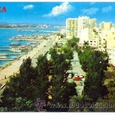 Postales: 7-ESP1103. POSTAL IBIZA. SAN ANTONIO ABAD, VISTA GENERAL, PASEO Y PUERTO. Lote 29884407