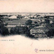 Postales: TARJETA POSTAL MAHÓN, MENORCA, VISTA DESDE EL MONTE, Nº 1316, HAUSER Y MENET. Lote 30159293