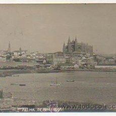 Postales: PALMA MALLORCA. VISTA GENERAL. (POSTAL FOTOGRÁFICA). Lote 30190412