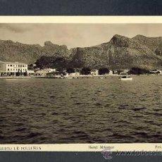 Postales: POSTAL DE POLLENÇA: HOTEL MIRAMAR (ROISIN NUM.155). Lote 30190006