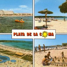 Postales: Nº 10522 PLAYA DE SA COMA SILLOT MALLORCA. Lote 30269201