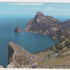 Cartoline: MALLORCA - POLLENSA EL COLOMERET.CAMINO FORMENTOR - EDICIÓN CASA PLANAS - POSTAL. Lote 30527219