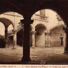 Postales: MALLORCA SERIE IV Nº 9 PATIO BARROCO MALLORQUÍN SIN CIRCULAR . Lote 30581517