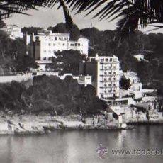 Postales: MALLORCA H. 201 PALMA HOTEL CALAMAYOR Y ECO CASA PLANAS SIN CIRCULAR POSTAL FOTOGRÁFICA . Lote 30645108