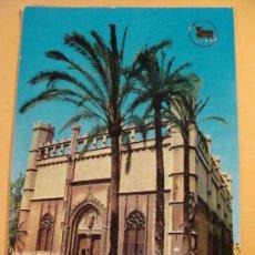 Postales: POSTAL DE PALMA MALLORCA, ISLAS BALEARES. AÑO 1964. LA LONJA, COCHES CLÁSICOS. 303. . Lote 30648555
