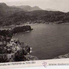 Postales: ENTRADA DEL PUERTO DE SOLLER Nº 207 L ROISÍN FOTÓGRAFO ESCRITA CIRCULADA DOS SELLOS. Lote 30651723