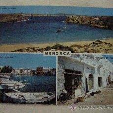 Postales: ANTIGUA POSTAL DE LA ISLA DE MENORCA - ENVIO GRATIS A ESPAÑA. Lote 30839370