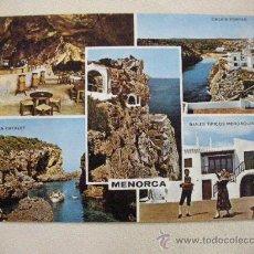 Postales: ANTIGUA POSTAL DE LA ISLA DE MENORCA - ENVIO GRATIS A ESPAÑA. Lote 30847195