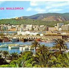 Postales: 7-ESP1266. POSTAL MALLORCA. PALMA. VISTA PARCIAL DE LA BAHIA. Lote 30886057