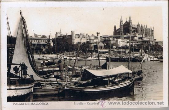 Postales: 10 VISTAS SERIE C - PALMA DE MALLORCA - BLANCO Y NEGRO - Foto 2 - 31709179