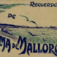 Postales: PALMA DE MALLORCA - LIBRITO BLOC DE POSTALES. Lote 31325854