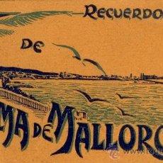 Postales: PALMA DE MALLORCA - LIBRITO BLOC DE POSTALES. Lote 31337118