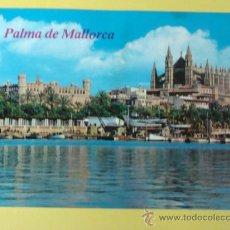Postales: POSTAL DE PALMA DE MALLORCA, ISLAS BALEARES. AÑO 1981. CATEDRAL Y LONJA. 675 . Lote 31672240