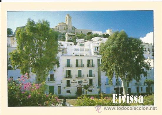 ** PP507 - POSTAL - IBIZA - DALT VILA - SIN CIRCULAR (Postales - España - Baleares Moderna (desde 1.940))