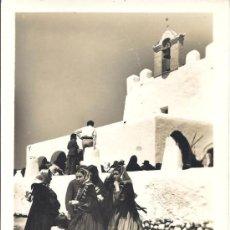 Postales: PS1127 IBIZA 'FIESTA DE SAN JORGE'. FOTO VIÑETS. NÚMERO 31. CIRCULADA EN 1954. Lote 31721286