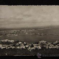 Postales: TARJETA POSTAL. PALMA DESDE EL CASTILLO DE BELLVER. ESCRITA Y ENVIADA. 1950.. Lote 31756563