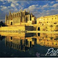 Postales: POSTAL MALLORCA - CATEDRAL PALMA - COLECCION BALEARES Nº 44 - EDUARDO MIRALLES. Lote 31873641