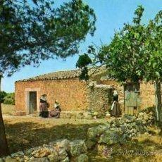 Postales: S'ARISSAL CASETA DE SOR FRANCINAINA SENCELLES CASA PLANAS ESCRITA CIRCULADA SELLO. Lote 31874404