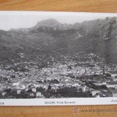 Postales: MALLORCA - SOLLER VISTA GENERAL - FOTO TRUYOL - FOTOGRAFICA S/C. Lote 32007167