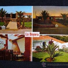 Postales: POSTAL 35. RESTAURANTE LA BOYERA. BINISAFUA. SAN LUIS. ED. CYP. MENORCA. . Lote 32115296