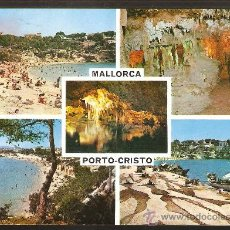 Postales: POSTAL * PORTO CRISTO * MALLORCA 1962. Lote 32178838