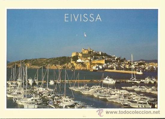 == B1281 - POSTAL - EIVISSA - SIN CIRCULAR (Postales - España - Baleares Moderna (desde 1.940))