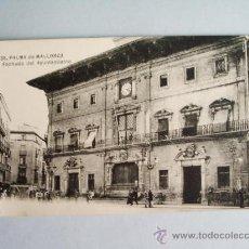 Postales: 1910C.- FACHADA DEL AYUNTAMIENTO . PALMA DE MALLORCA. BALEARES. POSTAL. Lote 32380869