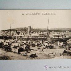 Postales: 1910C.- LLEGADA DEL CORREO . PALMA DE MALLORCA. BALEARES. POSTAL. Lote 32380940
