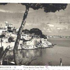 Postales: PS1505 MALLORCA 'VISTA DESDE CORP MARÍ'. FOTOGRÁFICA. FOT. GUILERA. CIRCULADA EN 1952. Lote 32405037
