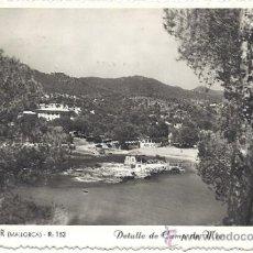 Postales: PS1042 MALLORCA 'CAMP DE MAR - DETALLE'. POSTAL FOTOGRÁFICA. ROTGER. CIRCULADA EN 1952. Lote 32405056