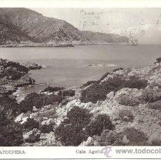 Postales: PS1389 CAPDEPERA 'CALA AGULLA'. POSTAL FOTOGRÁFICA. EDITORIAL FOTOGRÁFICA. CIRCULADA EN 1948. Lote 32405156