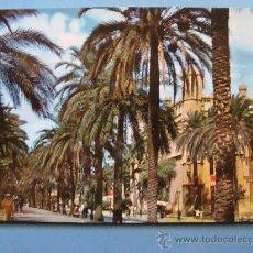 Postales: POSTAL DE MALLORCA, ISLAS BALEARES. AÑO 1962. PALMA, PASEO SAGRERA Y LONJA 253. . Lote 32477124